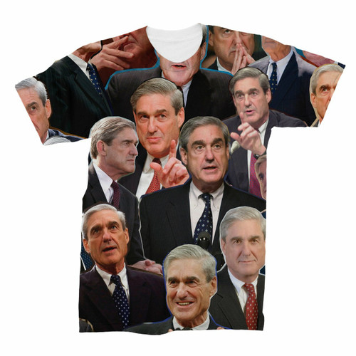 Robert Mueller Photo Collage T-Shirt