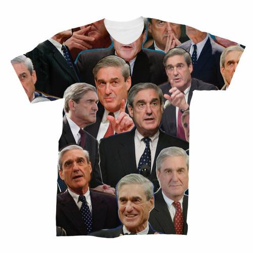 Robert Mueller Photo Collage T-Shirt