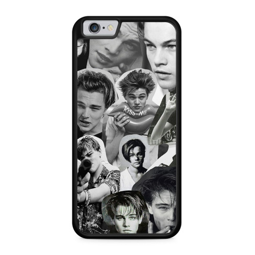 Leonardo Dicaprio Black and White Phone Case