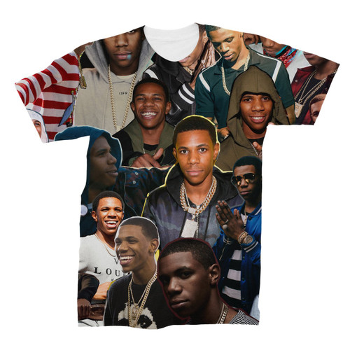 A Boogie wit da Hoodie Photo Collage T-Shirt