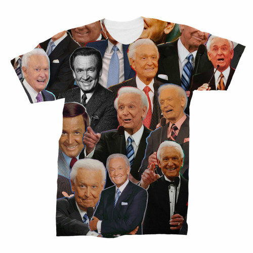 Bob Barker The Price Is Right Photo Collage T-Shirt
