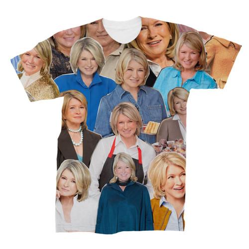 Martha Stewart Photo Collage T-Shirt