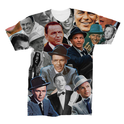 Frank Sinatra Photo Collage T-Shirt