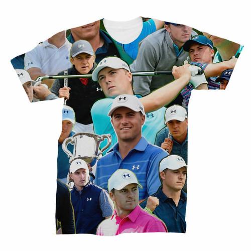 Jordan Spieth Photo Collage T-Shirt