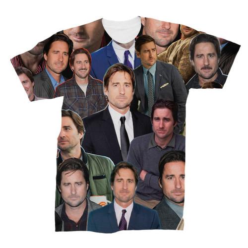 Luke Wilson Photo Collage T-Shirt