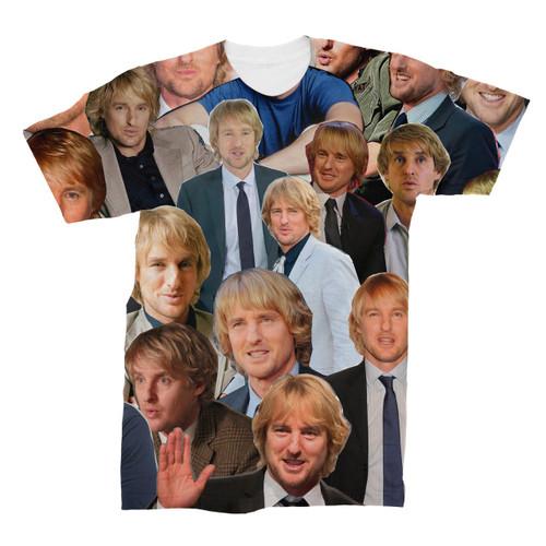 Owen Wilson Photo Collage T-Shirt