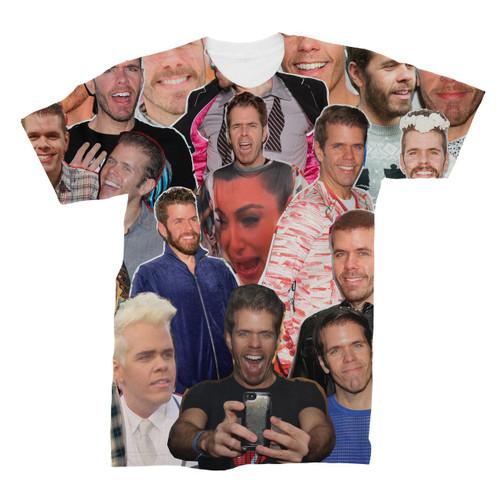 Perez Hilton Photo Collage T-Shirt