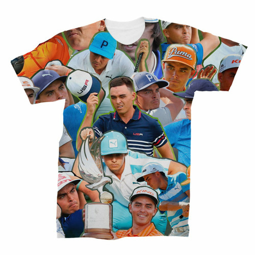 Rickie Fowler Photo Collage T-Shirt