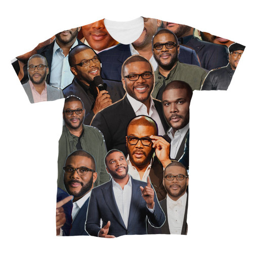 Tyler Perry Photo Collage T-Shirt