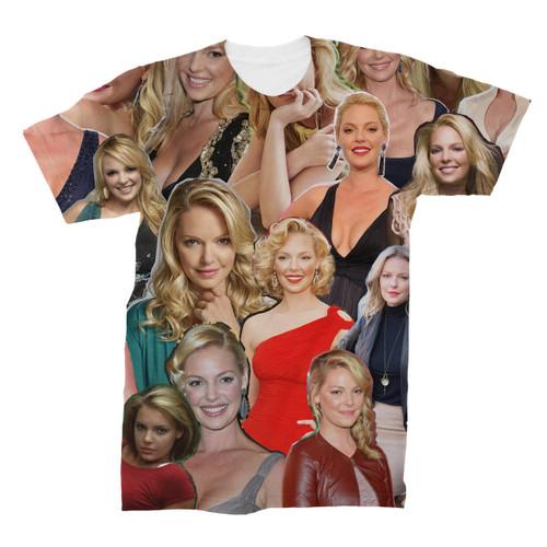 Katherine Heigl Photo Collage T-Shirt
