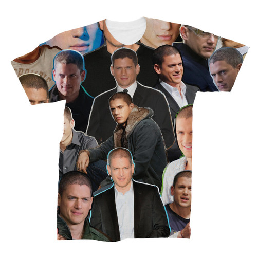 Wentworth Miller Photo Collage T-Shirt
