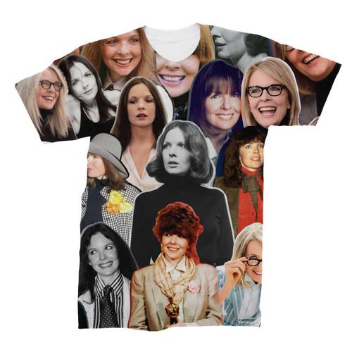 Diane Keaton Photo Collage T-Shirt