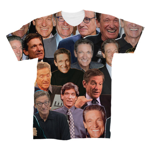 Maury Povich Photo Collage T-Shirt