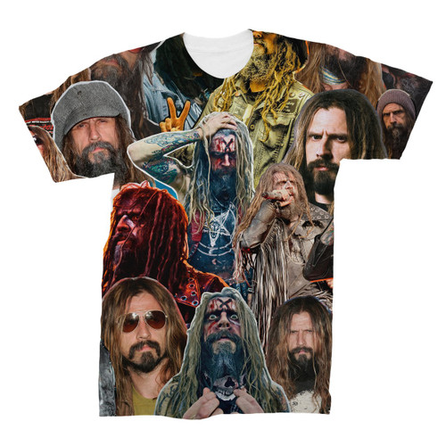 Rob Zombie Photo Collage T-Shirt