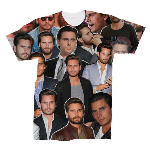 Scott Disick Photo Collage T-Shirt