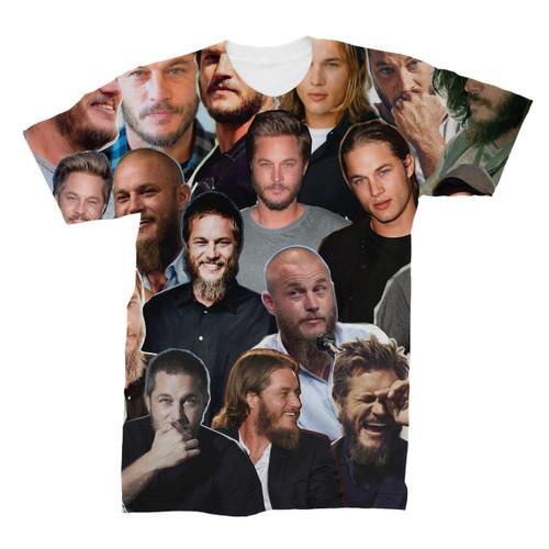Travis Fimmel Photo Collage T-Shirt