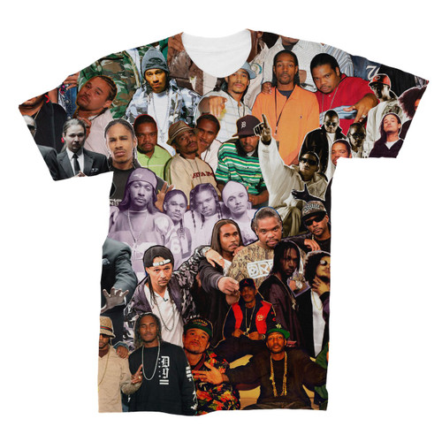 Bone Thugs-N-Harmony Photo Collage T-Shirt
