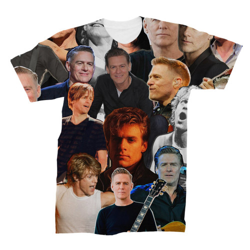 Bryan Adams Photo Collage T-Shirt
