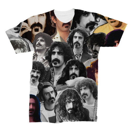 Frank Zappa Photo Collage T-Shirt