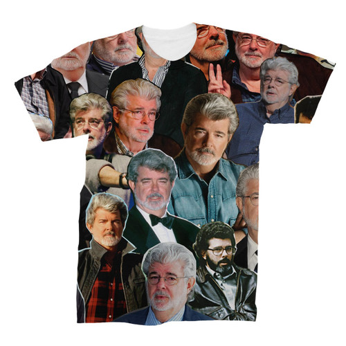 George Lucas Photo Collage T-Shirt