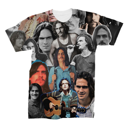 James Taylor Photo Collage T-Shirt