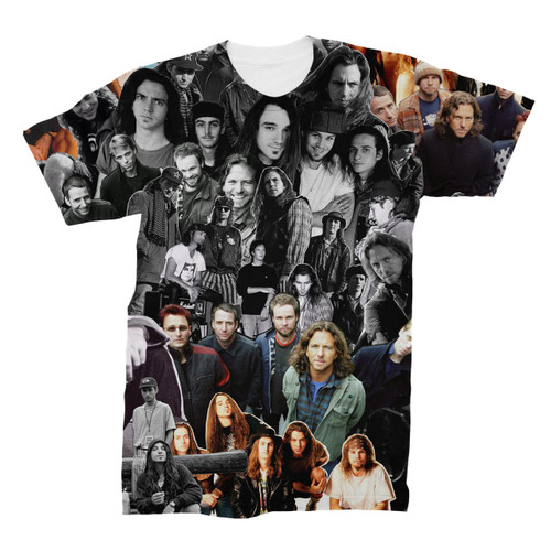 Pearl Jam Photo Collage T-Shirt