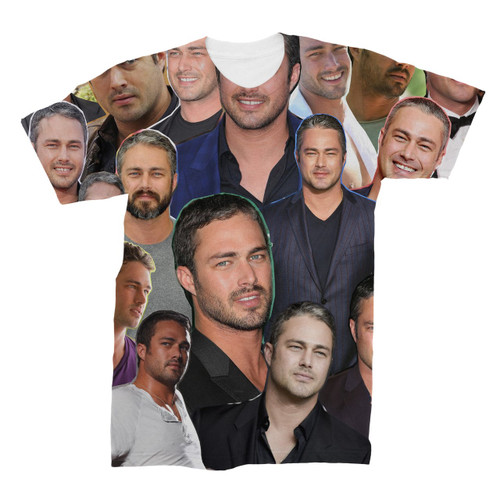 Taylor Kinney Photo Collage T-Shirt