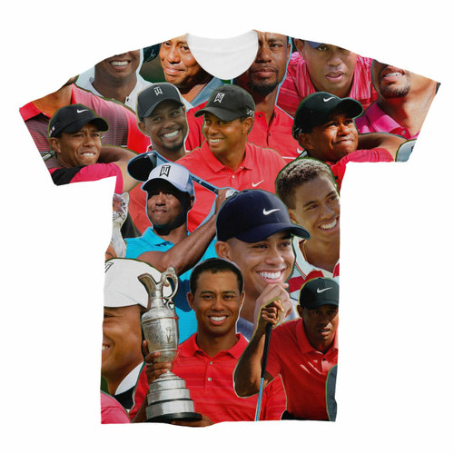 Tiger Woods Photo Collage T-Shirt
