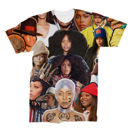Erykah Badu Photo Collage T-Shirt