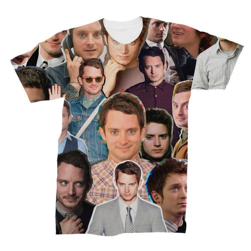 Elijah Wood Photo Collage T-Shirt