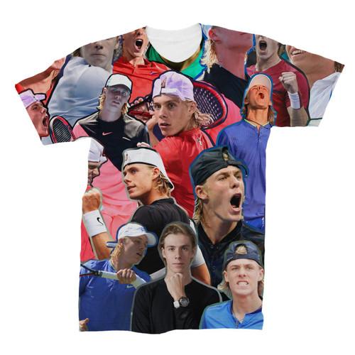 Denis Shapovalov Photo Collage T-Shirt