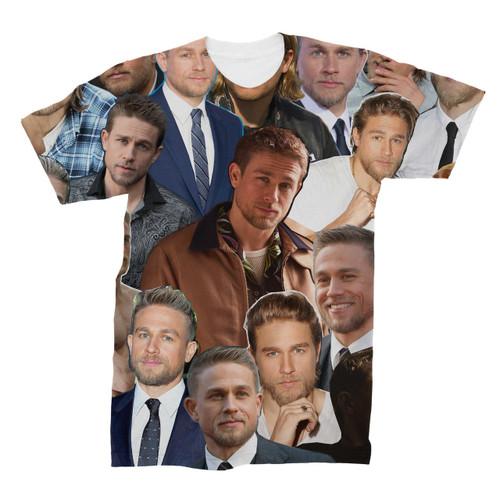 Charlie Hunnam Photo Collage T-Shirt