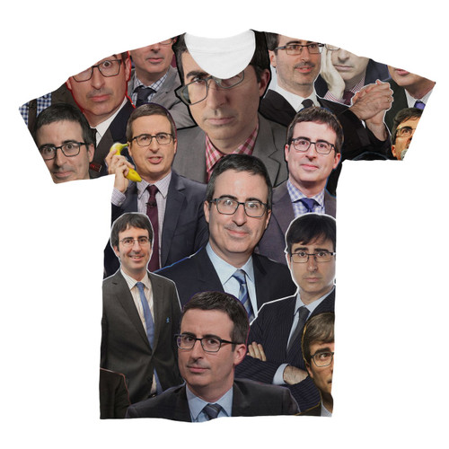 John Oliver Photo Collage T-Shirt