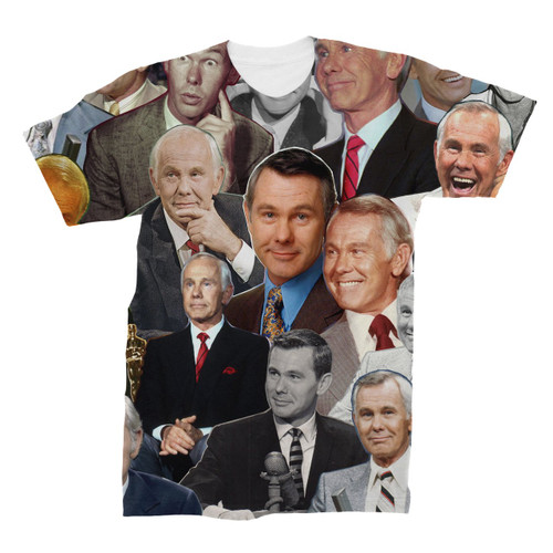 Johnny Carson Photo Collage T-Shirt