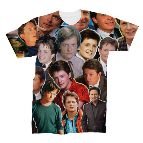 Michael J. Fox Photo Collage T-Shirt
