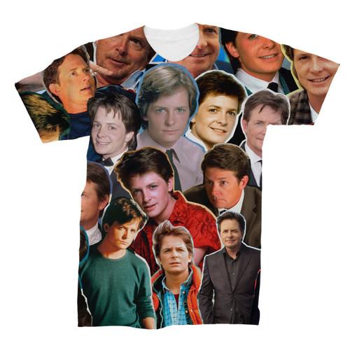 Michael J. Fox Photo Collage T-Shirt