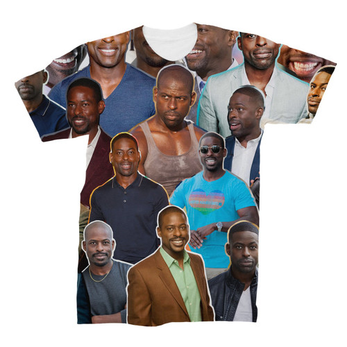 Sterling K. Brown Photo Collage T-Shirt