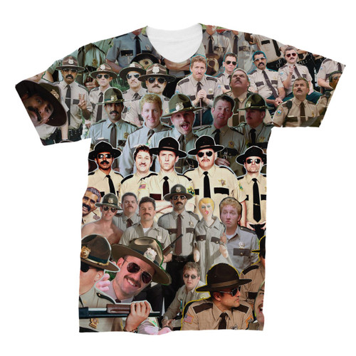 Super Troopers Photo Collage T-Shirt