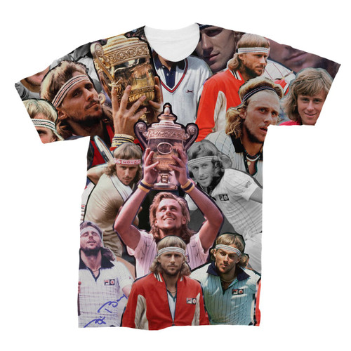 Bjorn Borg Photo Collage T-Shirt