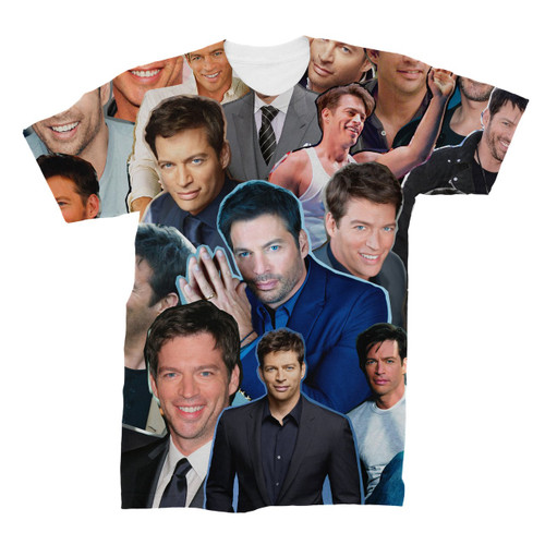 Harry Connick Jr. Photo Collage T-Shirt