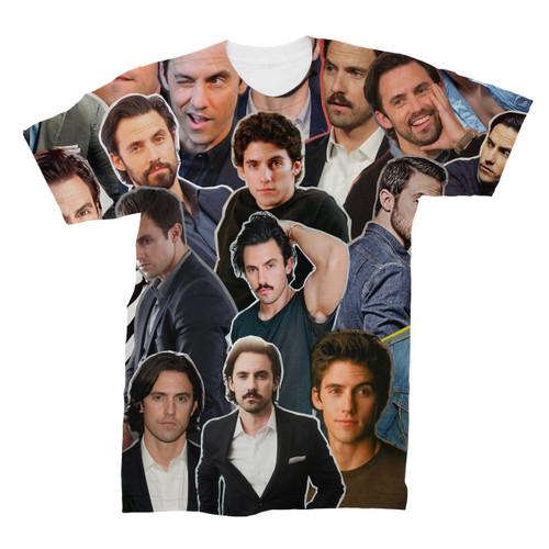 Milo Ventimiglia Photo Collage T-Shirt