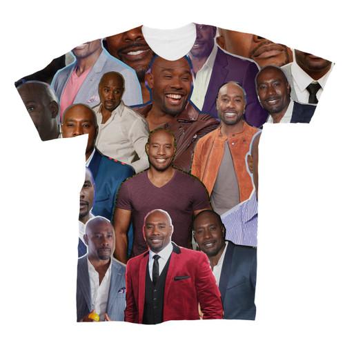 Morris Chestnut Photo Collage T-Shirt