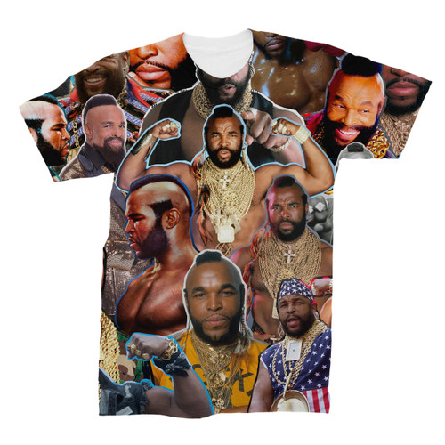 Mr T Photo Collage T-Shirt