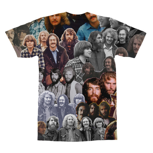 Creedence Clearwater Revival tshirt back