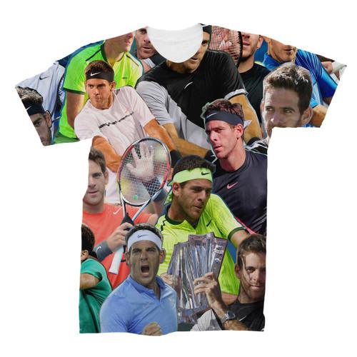 Juan Martin del Potro Photo Collage T-Shirt