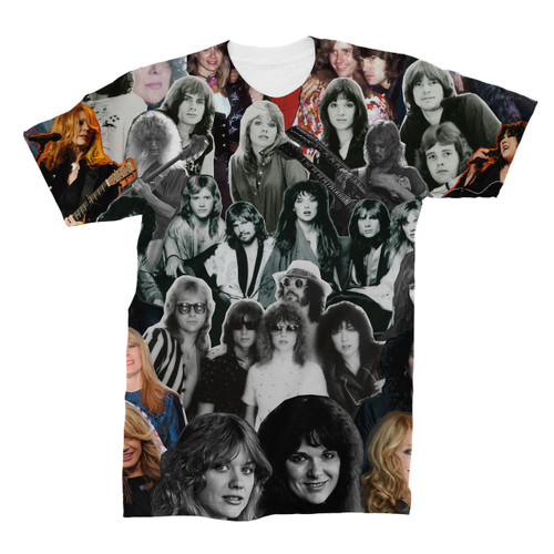 Heart (Band) Photo Collage T-Shirt
