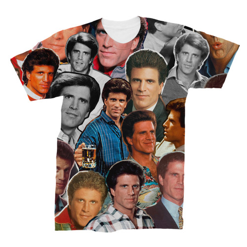 Ted Danson Photo Collage T-Shirt