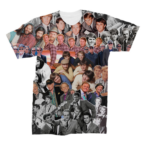 The Beach Boys Photo Collage T-Shirt