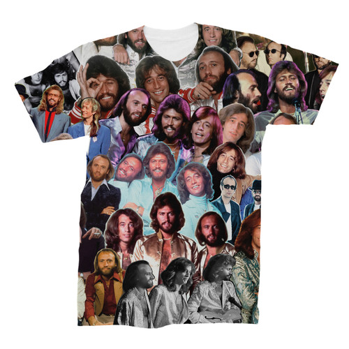Bee Gees Photo Collage T-Shirt