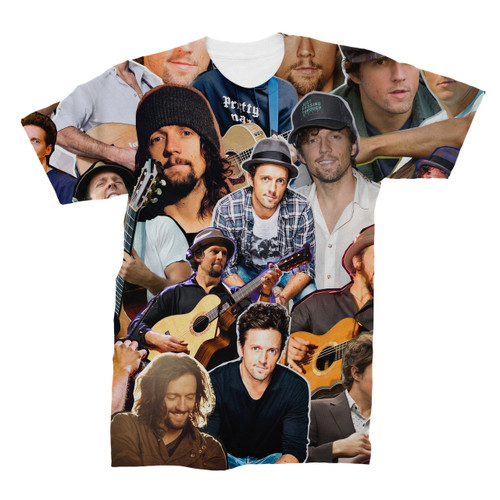 Jason Mraz Photo Collage T-Shirt
